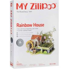 3D Пъзел My Zilipoo, Жива градина, Rainbow House, 27.5x19.5x14.5, 29 части