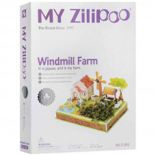 3D Пъзел My Zilipoo, Жива градина ,Windmil Farm ,27.5x19.5x14.5, 23 части