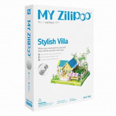 3D Пъзел My Zilipoo, Жива градина, Stylish VIlla, 27.5x19.5x14.5, 31 части