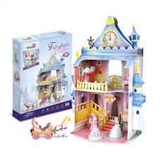 3D Пъзел. Кукленска Къща за сглобяване Приказен замък. CubicFun