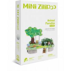 3D Пъзел Mini Zilipoo, Раят на животните, Жива градина, 20x14x11 см M003
