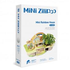 3D Пъзел Mini Zilipoo, Мини дъга - къща, Жива градина, 20x14x11 см M009