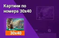 Картини по номера 30x40