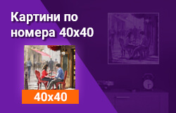 Картини по номера 40x40