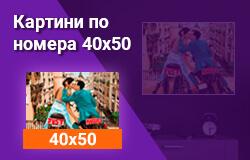 Картини по номера 40x50