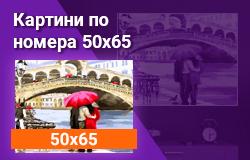 Картини по номера 50x65