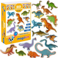 Комплектът магнитни пъзели Динозаври за бебе