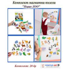 Комплектът магнитни пъзели ZOO Kids Happy за бебе